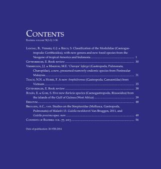 B78(1-3)-Inhoudsopgave