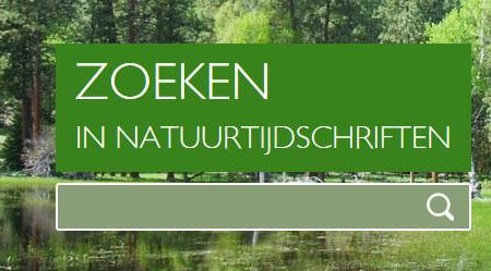 Ontsluiting literatuur via natuurtijdschriften.nl